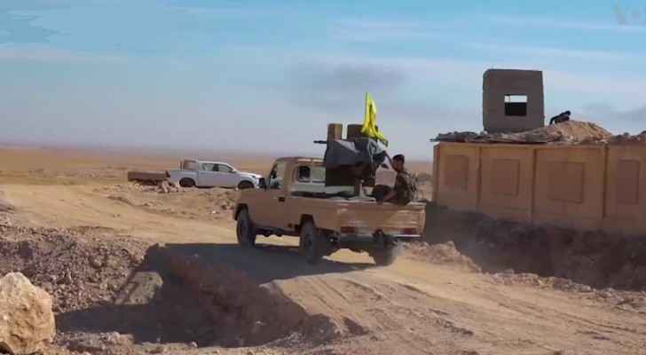 SDF forces in Raqqa. (Wikimedia commons)