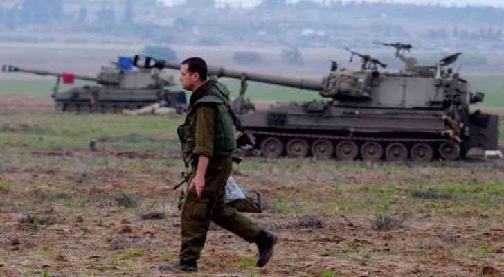 Israeli occupation forces have moved into the area near Jabaliya refugee camp in the northern Gaza Strip (Archive photo)