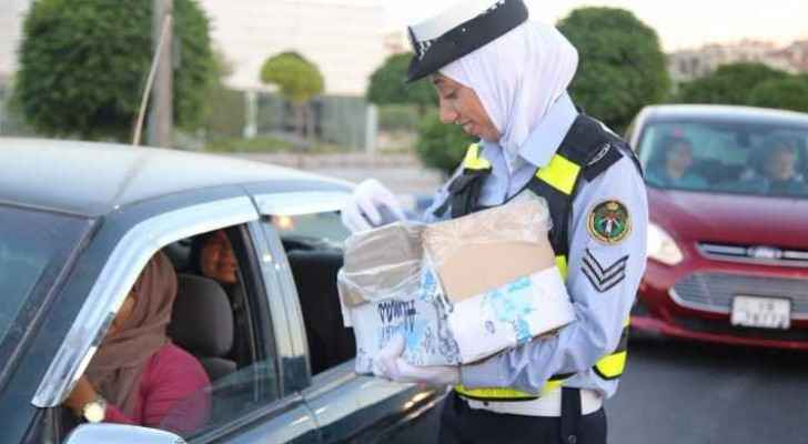 Jordan's female police women. (File photo)