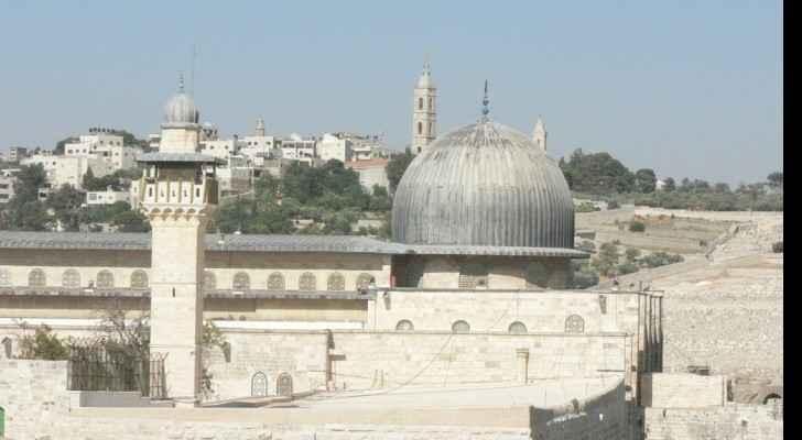 Al Aqsa mosque, Jerusalem. (Wikimedia Commons)