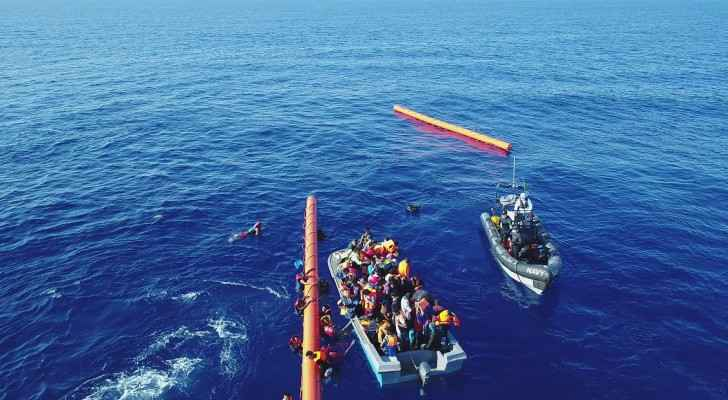 The rescue mission is part of an international migrant-rescue effort, Ireland's Defence Forces has said.
