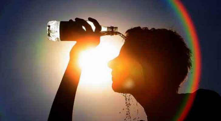 "Arabia Weather said that today's heatwave is likely to make people feel ""generally exhausted."""