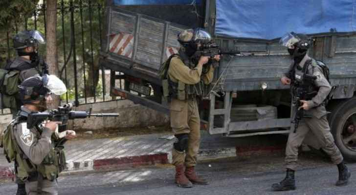 The clashes took places at one of the refugee camps in Bethlehem.