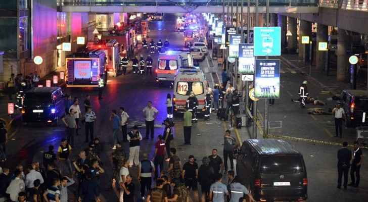 Late in the evening on June 28, 2016 three attackers shot randomly at passengers and staff at Istanbul's Ataturk International Airport before blowing