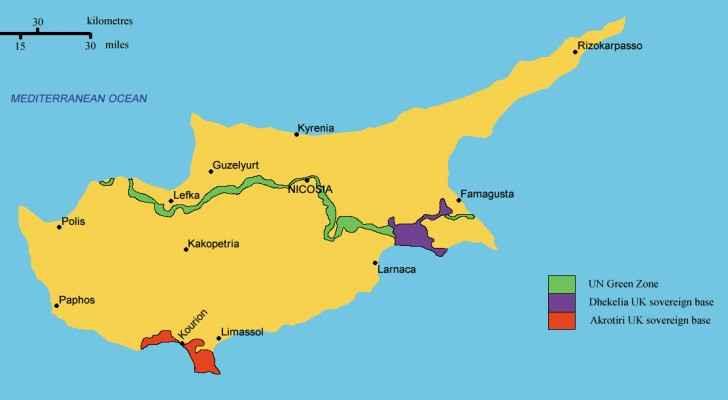 Cyprus. (Wikipedia)