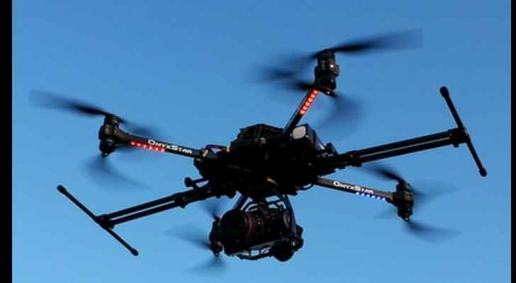 An unmanned aerial vehicle. (Wikipedia)