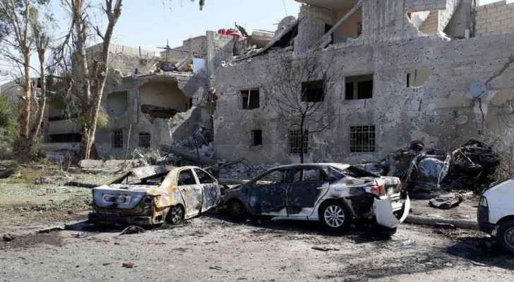 Damascus has generally been spared the large-scale battles that have devastated other major Syrian cities . (Wikipedia)