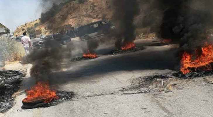 Residents burned tyres in the streets. (File photo)