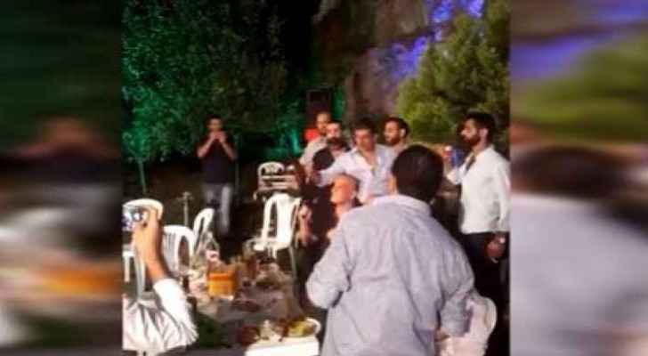 Jordanian authorities have issued a warning against bringing arms to weddings. (Youtube screengrab)