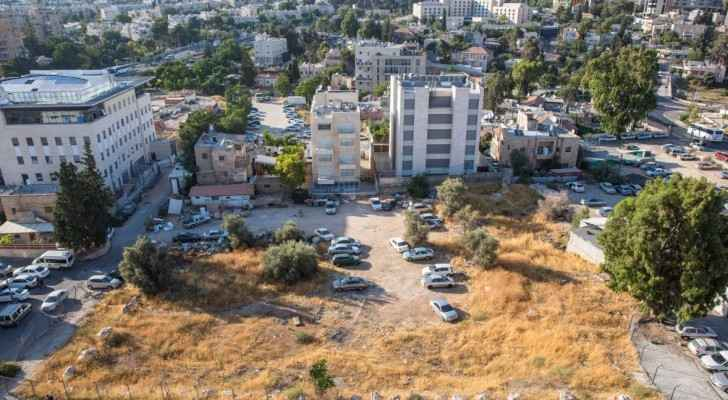 The site of planned Jewish housing in the East Jerusalem neighborhood of Sheikh Jarrah, July 2017. (Twitter)