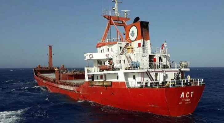 "The Greek port police said they had received an ""anonymous call"" saying the ship was ""transporting drugs""."