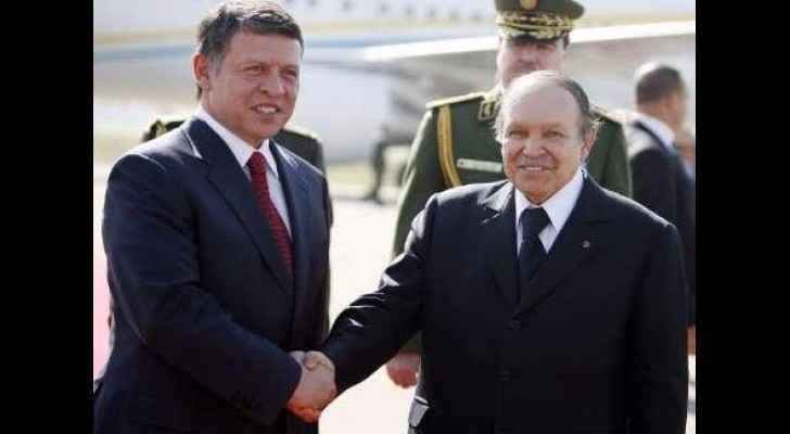 King Abdullah II's warm wishes to the Algerian people on their Day of Independence