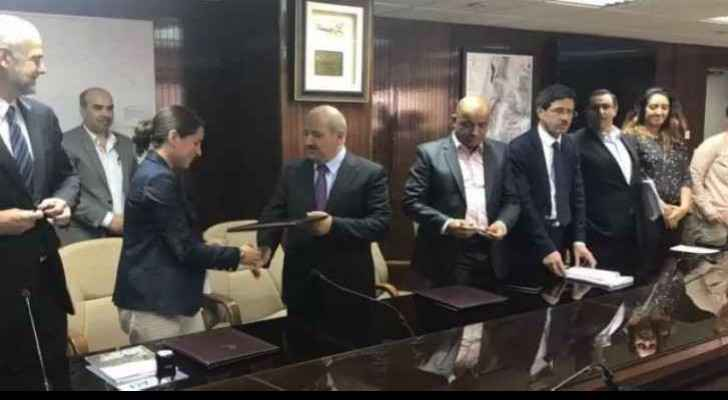 AfD signs a 10 million euro deal with Jordan