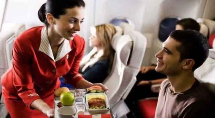 What's new on the menu for Royal Jordanian Airlines?