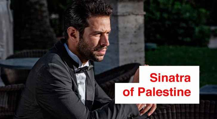 Omar Kamal, the Frank Sinatra of Palestine, makes Amman sway