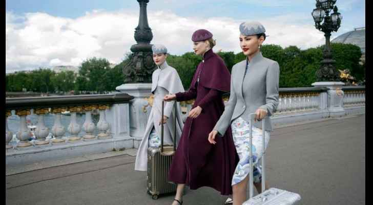 Chinese airline elevates uniforms to new heights