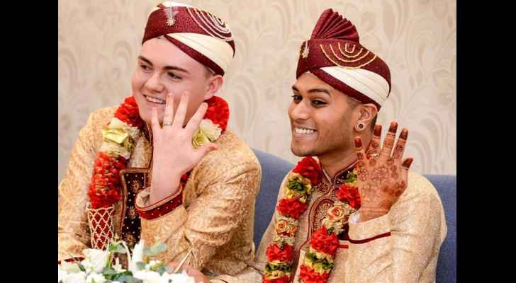 UK's first Muslim gay couple ties the knot: The Independent