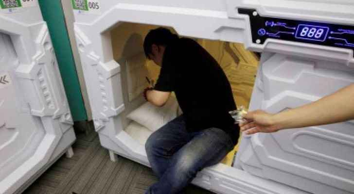 Nap capsules: the solution for sleep-deprived workers in China
