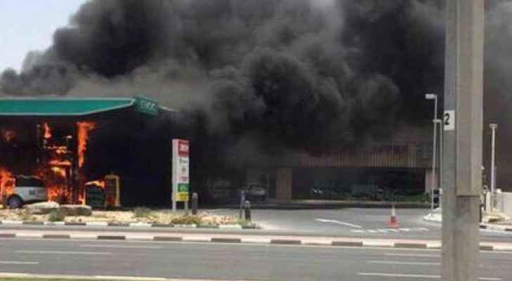 A fire broke out in an Aqaba petrol station. (File photo)