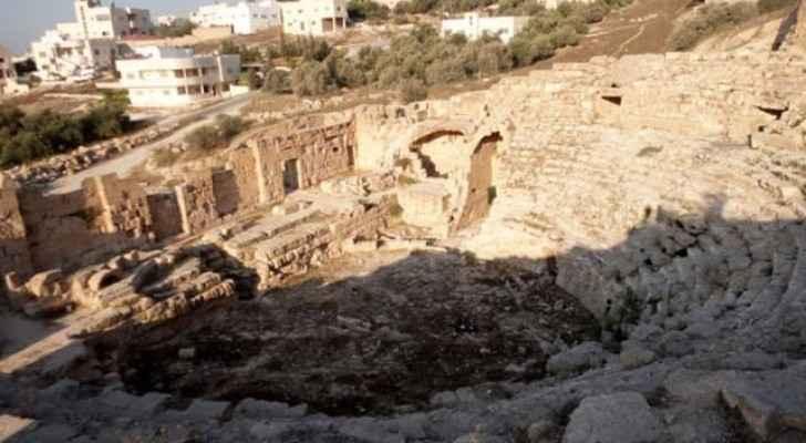 A historical site in Beit Ras, Irbid, Jordan North.