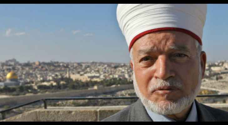 Occupation releases Grand Mufti of Jerusalem