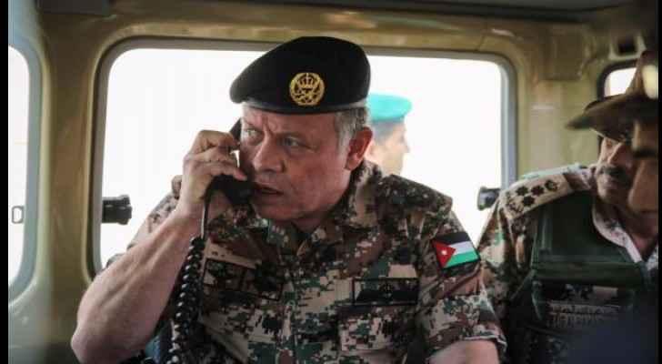 King Abdullah II discusses ongoing Al Aqsa crisis with Netanyahu