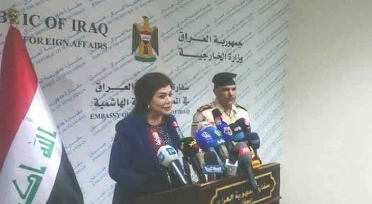 Iraqi ambassador: A million Iraqis displaced from Mosul, thousands are in Jordan
