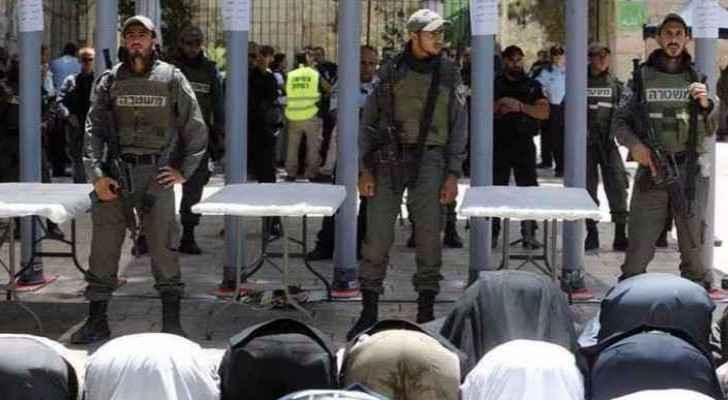 Mufti said resisting Israel's attempts to install security gates should be prioritised over praying inside Al Aqsa.