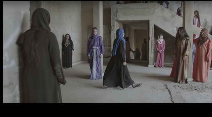 Shot from the music video for Roman, Mashrou' Leila's newest single