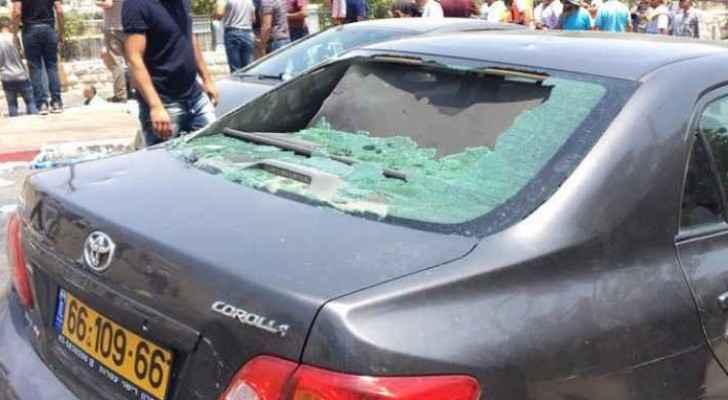 Roya's car in Palestine