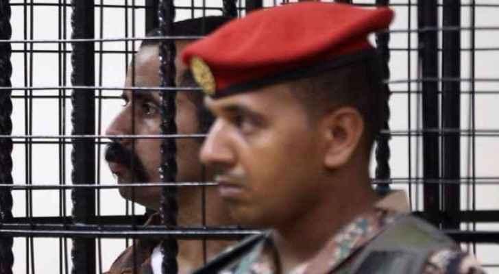 Jordanian soldier Abu Tayeh in his prison cell. (Roya News Arabic)