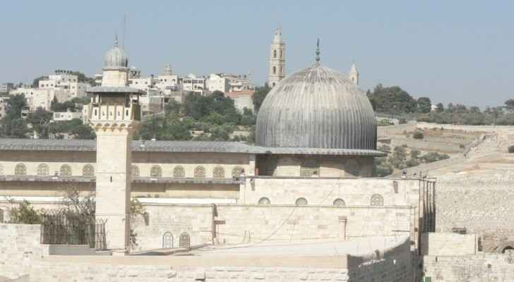 All security measures have been removed at Al Aqsa. (File photo)