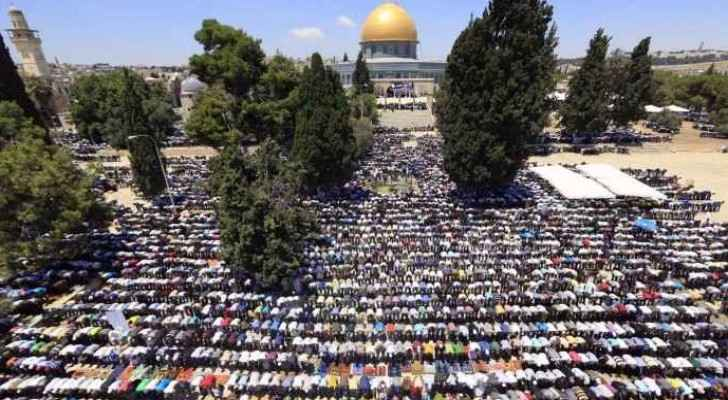 Israel finally reduces its security measures at Al Aqsa which Palestinians have been protesting for nearly two weeks