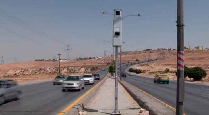 The new speed cameras are perpetual and they keep streets of Amman clean.