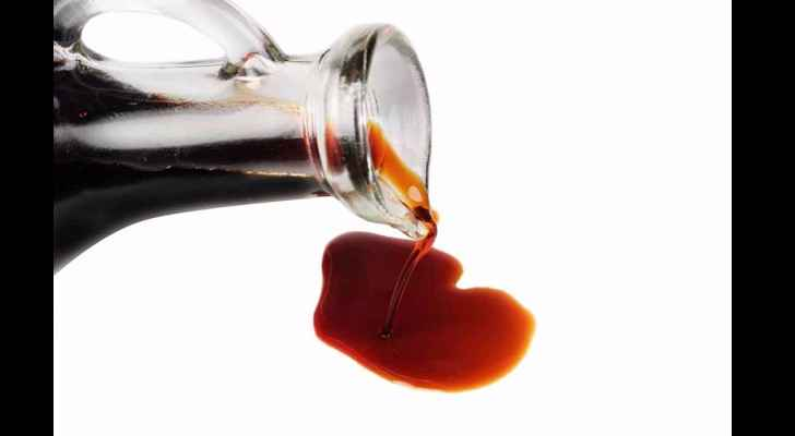 The soy sauce contains approximately 1.5 per cent - 2 per cent alcohol by volume.