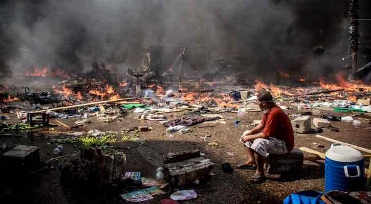 Rabaa massacre, August 14 2013.  (Photo: Mosa'ab Elshamy)