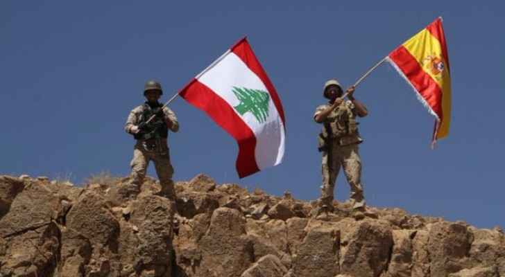 Lebanese forces in solidarity with victims of Daesh attack in Barcelona. (Photo Credit: Lebanese Army)