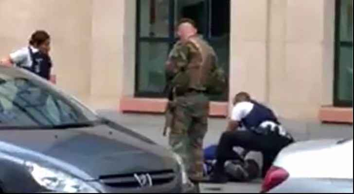 The Somali man was shot dead after stabbing a soldier in Brussels (Getty Images)
