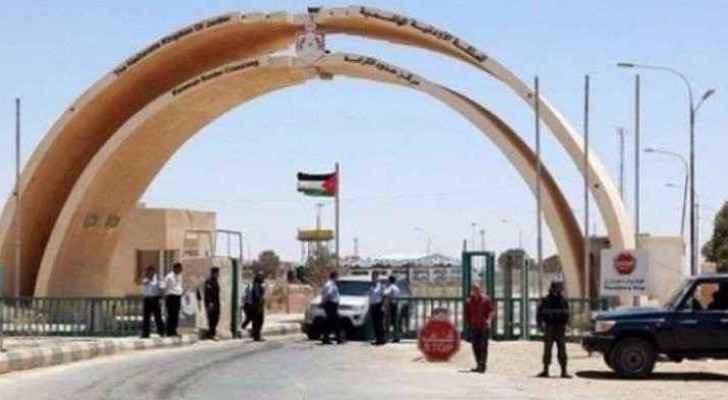 The Jordanian-Iraqi borders.