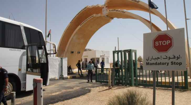 Jordan's Al Karameh border crossing with Iraq has been reopened after over a year. (Ro'ya)