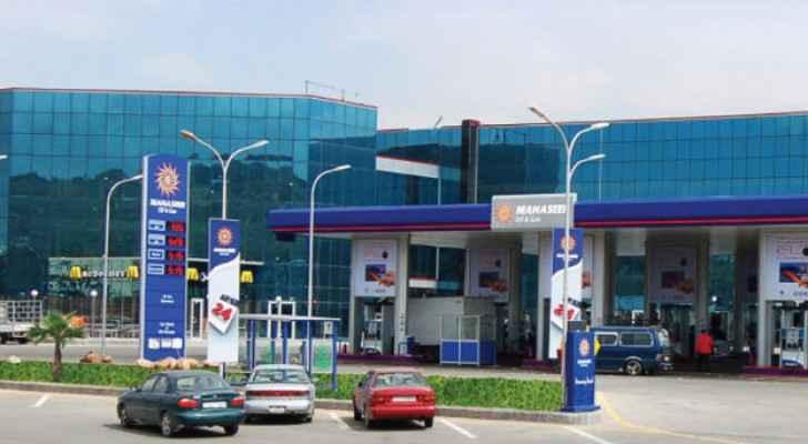 Manaseer gas station on airport road. (Photo Credit: Manaseer)