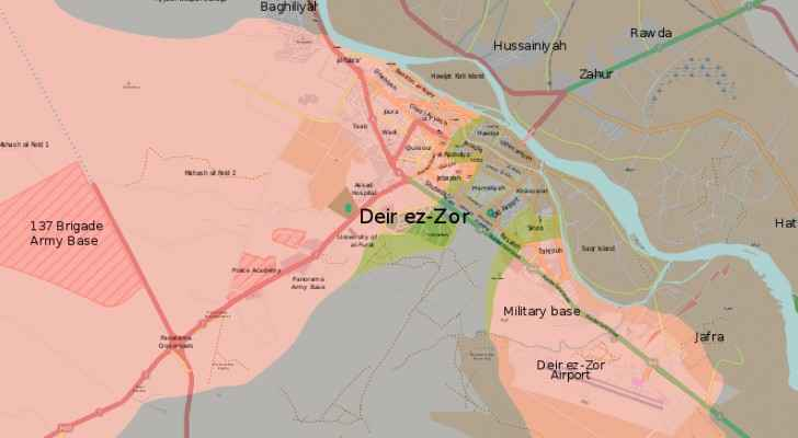 An IS convoy was travelling to Lebanon-Syria border to Deir Ezzor. (Wikipedia)