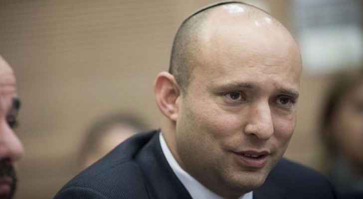 Israeli Education Minister Naftali Bennet's. (Yonatan Sindel/Flash90)