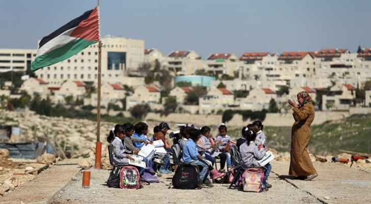 Israeli forces raid newly rebuilt Palestinian school