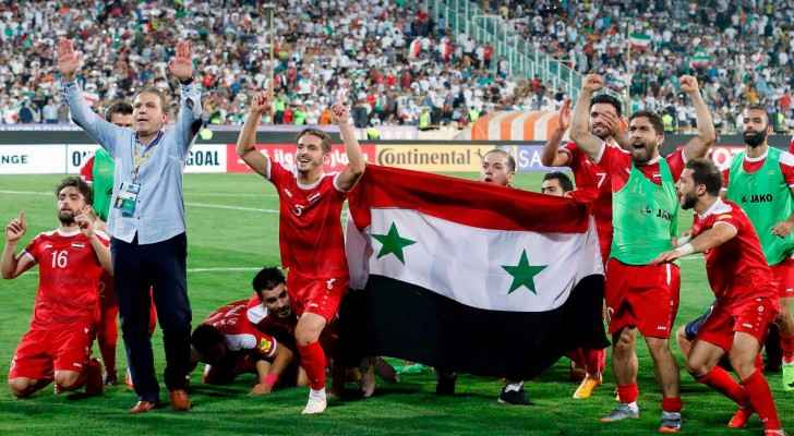 Next month's qualifying playoff will see Syria go head to head with Australia.