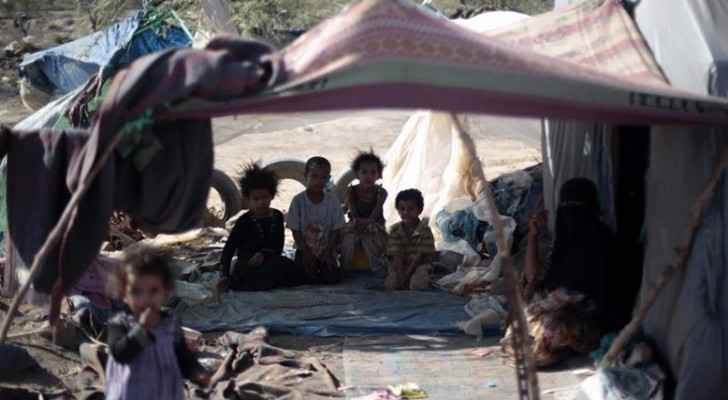 Over 10,000 Yemenis have been killed in Saudi's war in Yemen, while UK firms profit. (Photo Credit: Hani Mohammed/AP)