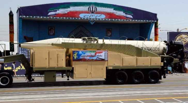 Iran unveiled a new ballistic missile during a military parade in Tehran. (Photo Courtesy: AFP)