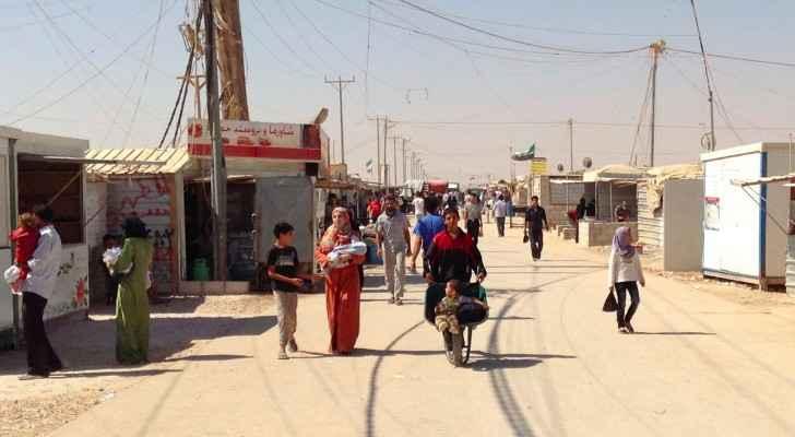 Zaatari Refugee Camp, Jordan. (Wikimedia Commons)