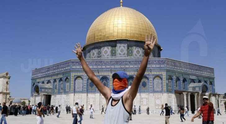 Al Aqsa guard arrested by Israeli forces