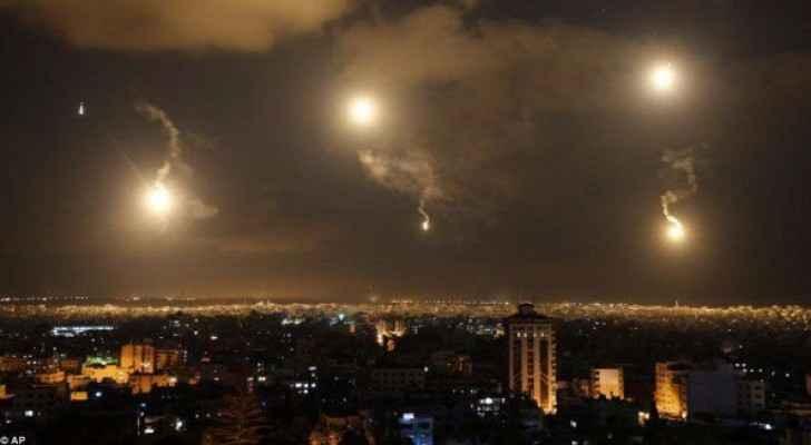 Israel fired two shells at Maghazi camp, Gaza. (Twitter)